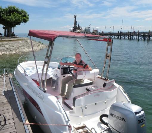 Stadtführer Konstanz, Motorboot Konstanz Bodensee, Reiseleiter Konstanz