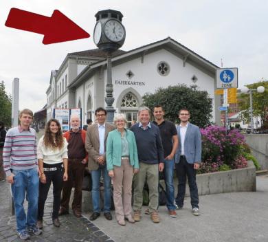 Stadtführung Konstanz, Tourist Information Konstanz, Hafenuhr