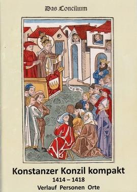 Konstanzer Konzil, Broschüre katholische Kirche, Stadtführer Konstanz